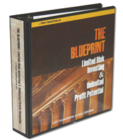 """The Blueprint"" sold by my first internet company, RadioActive Trading circa 2002. A trading system that limits risk while leaving upside potential open. Available at www.radioactivetrading.com"
