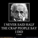 einstein crap