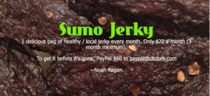 Sumo Jerky first