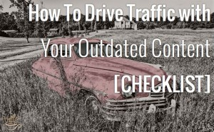 Another one of MANY Helpful Checklist from the Queen of Traffic ...Click to Go There