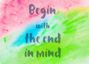 Begin with the end in mind. Start with your goal, working BACKWARDS to take side hustle to full time income